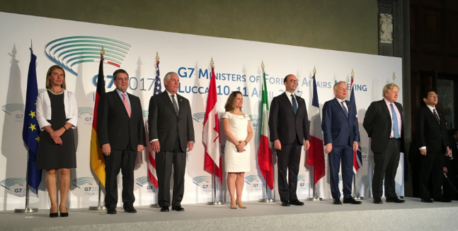 2017 G7 meeting (WikimediaCommons/Lucca)